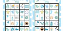 Baby Shower Bingo-Boy